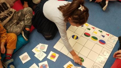 Halkalı Okul Öncesi Deniz Yıldızı Grubu Okuma Yazmaya Hazırlık Dersinde