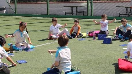 Halkalı Okul Öncesi Yıldızlar Grubu Öğrencileri Düşünme Becerileri  Dersinde