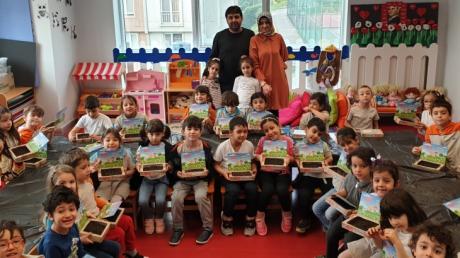 Halkalı Okul Öncesi Yıldızlar ve Güneş Grubu Aile Katılımı Etkinliğinde