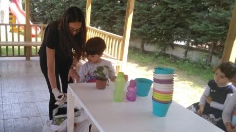 Halkalı Okul Öncesi Yunuslar Grubu Aile Katılım Etkinliğinde