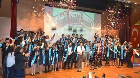 Halkalı Okyanus Koleji 12.Sınıf Öğrencilerinin Kep Töreni