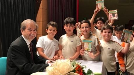 Halkalı Okyanus Koleji İlkokul Öğrencileri Yazar Hikmet Altınkaynak İle Buluştu.