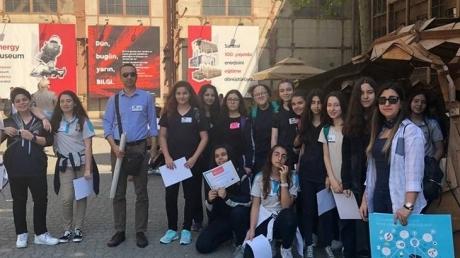 Halkalı Okyanus Koleji Ortaokul Öğrencileri Bilgi Üniversitesinde