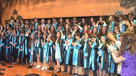 Halkalı Okyanus Kolejinde Ortaokula Veda Liseye Merhaba...