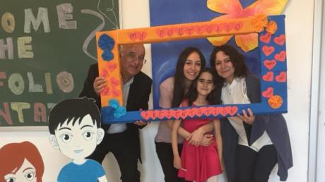 İncek Okyanus Koleji İlkokul Kademesi İngilizce Portfolyo Sunumları