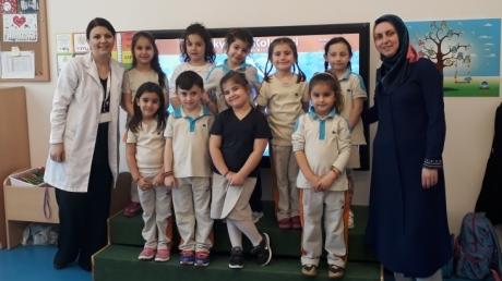 Kuşlar Sınıfı Öğrencilerimiz, Velimiz Serap Hanım İle Aile Katılımı Etkinliğinde