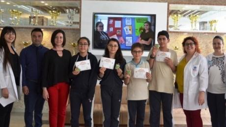 Mavişehir Okyanus Koleji Ortaokul Kademesi Kanguru Finallerinde
