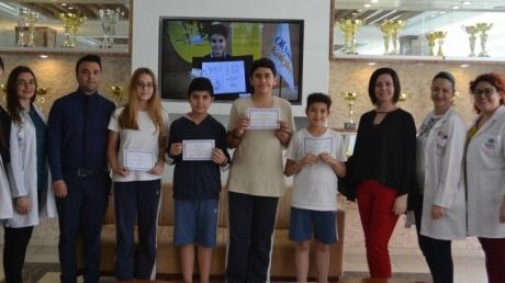 Mavişehir Okyanus Koleji Ortaokul Kademesinde Math League Sınavı Heyecanı Yaşandı