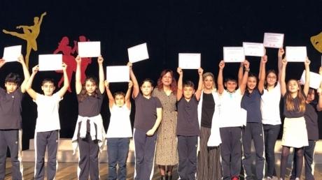 Mimaroba Okyanus Koleji Ortaokul Kademesinde 'SpeakingExam' Sertifikaları Verildi