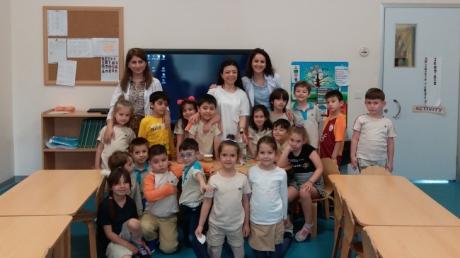 Mimarsinan Okyanus Koleji Okul Öncesi Gökkuşağı Grubu Aile Katılım Etkinliğinde