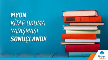 Myon Online İngilizce Kitap Okuma Platformu Yarışmasının Kazananları Belli Oldu.