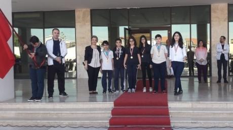 Nilüfer Okyanus Ortaokulu Öğrencileri NÖS-5 Sınavında Derece Aldı
