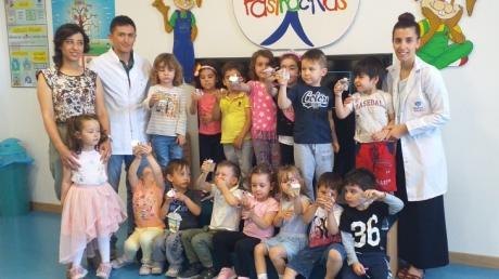 Okul Öncesi Çiçekler Sınıfı Aile Katılımı Etkinliğinde