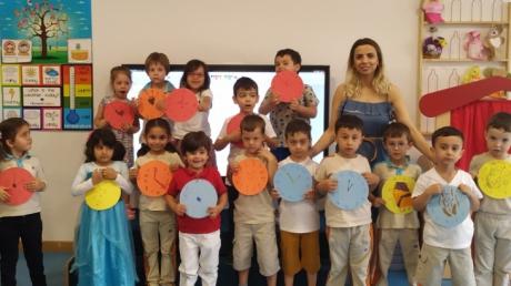 Okul Öncesi Deniz Yıldızı Grubu Öğrencileri Aile Katılım Etkinliğinde
