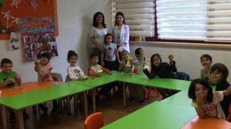 Okul Öncesi Güneş Grubu Aile Katılım Etkinliğinde