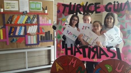 Okulumuzda Türkçe Günü Etkinlikleri