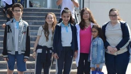 Ortaokul Kademesi Öğrencilerinden Mayıs Ayı 'STAR OF THE MONTH' ları şeçildi.
