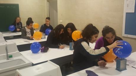 Ortaokul Öğrencilerine LUS (Laboratuvar Uygulama Sınavı) Yapıldı