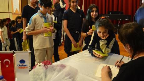 Özel Mavişehir Okyanus Ortaokulu 5. Sınıf Öğrencileri Hüsnan Şeker İle Baş Başa…