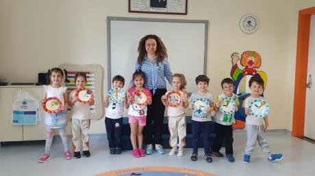 Sancaktepe Okyanus Koleji Okul Öncesi Balıklar Grubu Öğrencileri Aile Katılımı Etkinliğinde