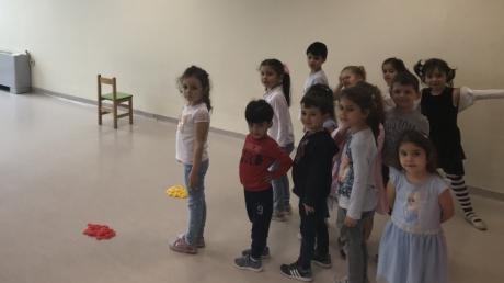Sancaktepe Okyanus Koleji Okul Öncesi Deniz Yıldızı Grubu Öğrencileri Oyun Etkinliğinde