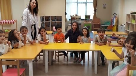 Sancaktepe Okyanus Koleji Okul Öncesi Güneş Grubu Öğrencileri Aile Katılımı Etkinliğinde