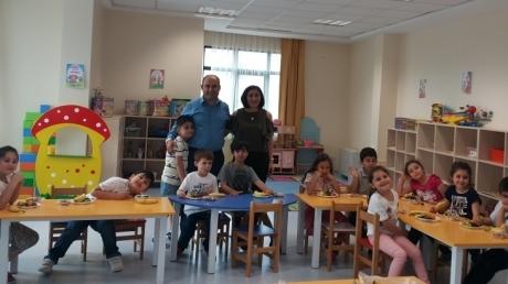 Sancaktepe Okyanus Koleji Okul Öncesi Yıldızlar Grubu Öğrencileri Aile Katılımı Etkinliğinde