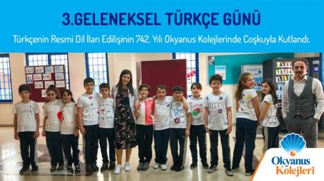 Türkçenin Resmi Dil İlan Edilişinin 742. Yılı Okyanus Kolejlerinde Coşkuyla Kutlandı