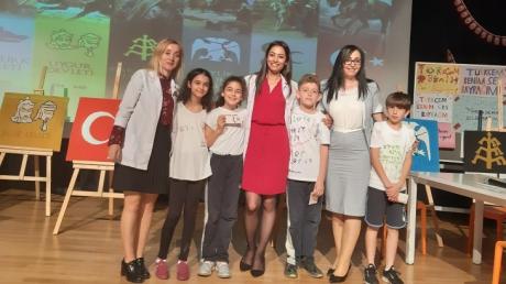 Türkçenin Resmi Dil İlan Edilişinin 742. Yılı Kemerburgaz Okyanus Kolejinde Coşkuyla Kutlandı