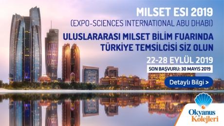 Uluslararası Milset Bilim Fuarında Türkiye Temsilcisi Siz Olun!