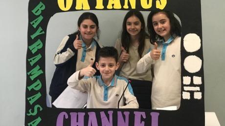 5.Sınıflar Okyanus Channel Haberlerini Sunmaya Devam Ediyor!