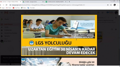 Adana Okyanus Koleji Uzaktan Eğitim Kişisel Gelişim Derslerimiz Başladı...