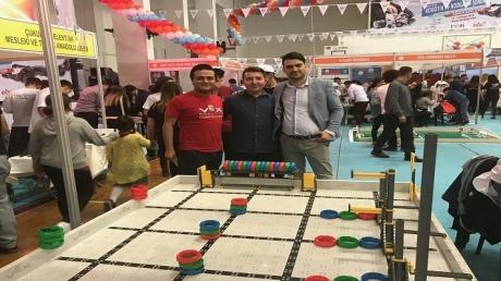 Adana Okyanus Koleji Vex Robotics Kulübü Adana Robotik ve Kodlama Şenliğinde