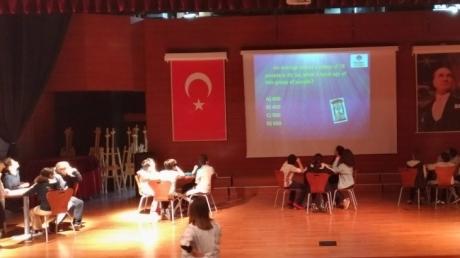 Avcılar Okyanus Koleji 6. Sınıf Öğrencileri arasında 'Quiz Show' yarışması yapıldı.