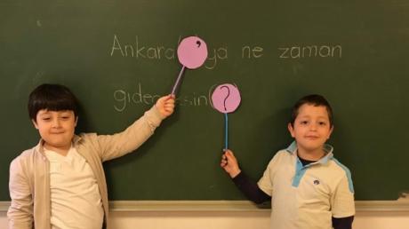 Bahçelievler Okyanus Koleji 1.Sınıf Öğrencileri Türkçe Dersinde