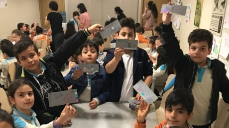 Bahçelievler Okyanus Koleji 3. Sınıf Öğrencileri Türkiye İş Bankası'na  Gittiler
