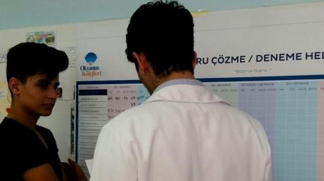 Bahçeşehir Okyanus Koleji 8.Sınıf Öğrencileri Hedeflerini Belirledi.