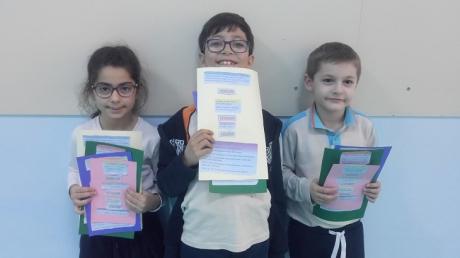 """Bahçeşehir Okyanus Koleji Üstün Zekâlılar ve Yetenekliler İlkokulu 2. Sınıf Matematik Esnek Grup Öğrencileri """"Verilen, İstenen, Çözüm"""" Etkinliğinde"""