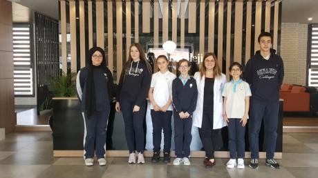 Bayrampaşa Okyanus Koleji Ortaokul Kademesi Mart Ayı Writing Star Yarışması