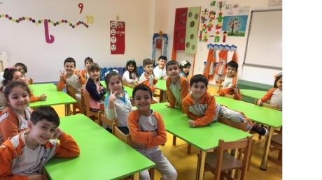 Beykent Okyanus Koleji Güneş Grubu Öğrencileri Oyun Etkinliğinde