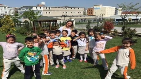 Beykent Okyanus Koleji Güneş Grubu Öğrencileri Oyun Etkinliğinde.
