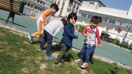 Beykent Okyanus Koleji Okul Öncesi Balıklar Grubu Öğrencileri Oyun Etkinliğinde