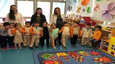 Beykent Okyanus Koleji Okul Öncesi Çiçekler Grubu Öğrencileri Aile Katılım Etkinliğinde