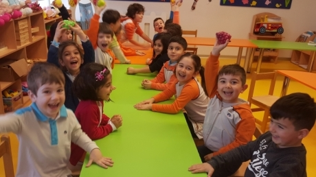 Beykent Okyanus Koleji Okul Öncesi Gökkuşağı Grubu Oyun Etkinliğinde