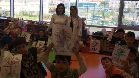 Beykent Okyanus Koleji Okul Öncesi Gökkuşağı Grubu Aile katılımında