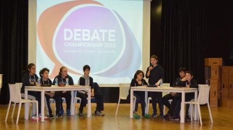Beykent ve Mimarsinan şubeleri Ortaokul Kademesi 7.sınıflar arasında İngilizce Münazara yarışması düzenlendi