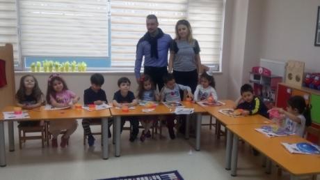 Beylikdüzü Okul Öncesi Çiçekler Sınıfı Aile Katılım Etkinliğinde