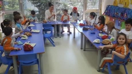 Beylikdüzü Okul Öncesi Güneş Sınıfı Aile Katılım Etkinliğinde