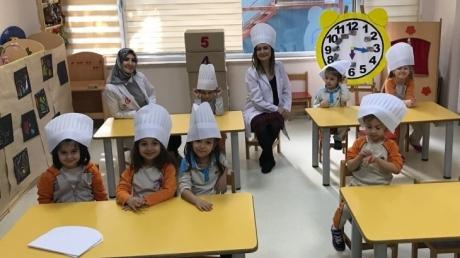 Beylikdüzü Okul Öncesi Kuşlar Grubu Pizza Etkinliğinde