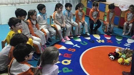 Beylikdüzü Okul Öncesi Yıldızlar Grubu Yaratıcı Drama Dersinde